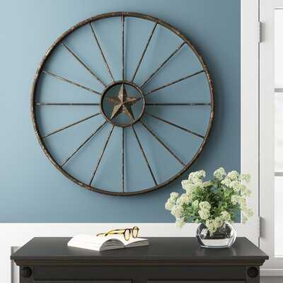 Rustic Wagon Wheel Wall Decor - Birch Lane