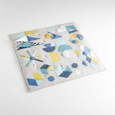 Modern Geometric Baby Activity Mat - Crate and Barrel