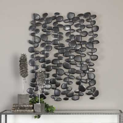 Skipping Stones Forged Iron Wall Art - Hudsonhill Foundry