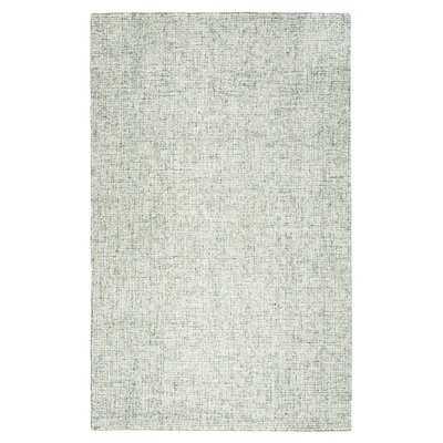 Hale Hand-Tufted Wool Green Area Rug - AllModern