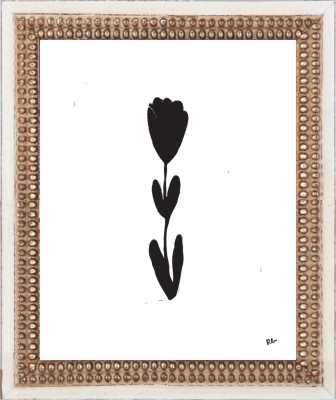 Tulip Stem by Rob Blackard for Artfully Walls - Artfully Walls