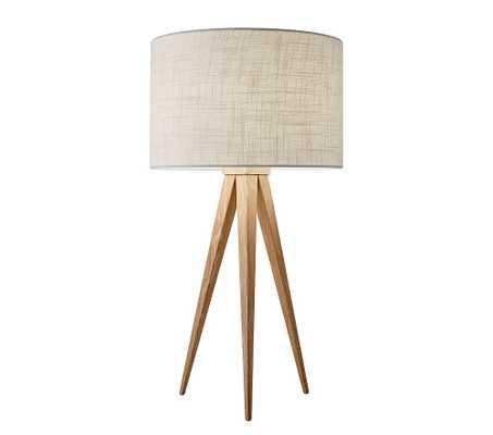 Director Table Lamp, Natural - Pottery Barn Kids