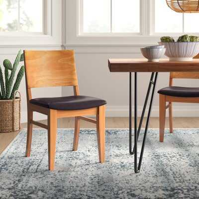 Zinab Solid Wood Dining Chair (Set of 2) - Wayfair