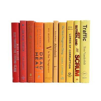 Sunset Ombré Colorpak Authentic Decorative Book - Wayfair