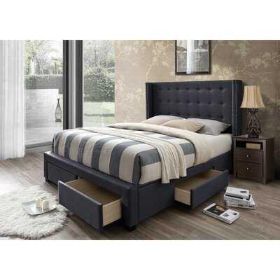 Kerens Upholstered Storage Standard Bed - Birch Lane