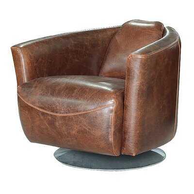 Boehme Swivel Club Chair - Wayfair