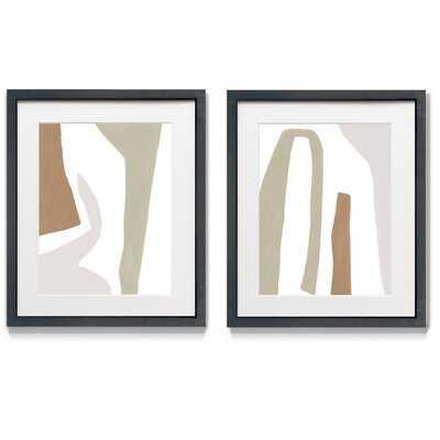 Format Frolic I - 2 Piece Picture Frame Print Set - Wayfair