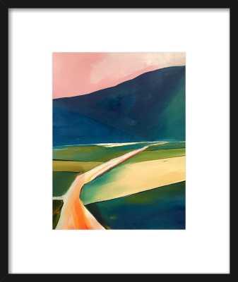 Sunset Road by Janet Bludau for Artfully Walls - Artfully Walls
