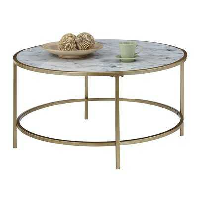 Essex Coffee Table with Tray Top - Wayfair