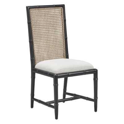 Furniture Classics Upholstered Side Chair Frame Color: Black - Perigold