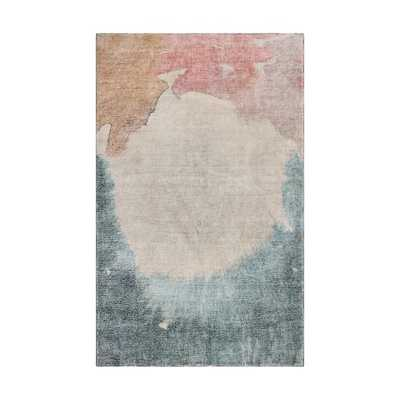 Watercolor Field Rug, 9'x12', Multi - West Elm