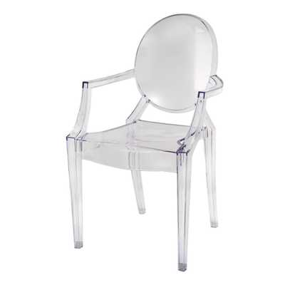 Atelier Ghost Chair Clear - A&B Home - Target