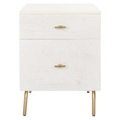 Genevieve 2 - Drawer Nightstand - Wayfair