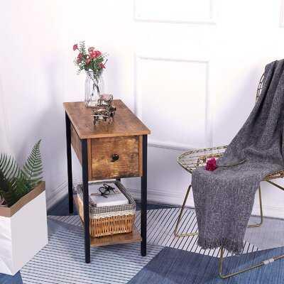 Zetilla End Table with Storage - Wayfair