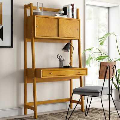 Dunkelberger Leaning/Ladder Desk - Wayfair