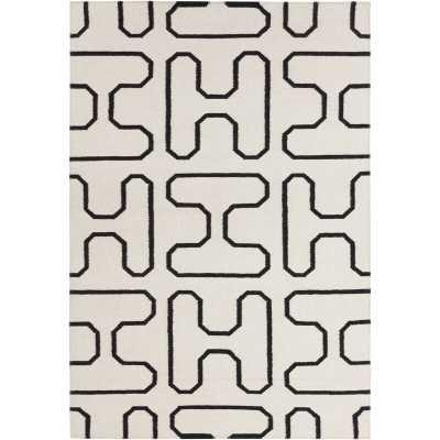 Lima Geometric Area Rug Rug Size: 5' x 7' - Perigold
