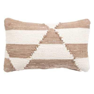 """Nikki Chu Cosmic Geometric 24"""" Lumbar Pillow Cover Color: Blush - Perigold"""