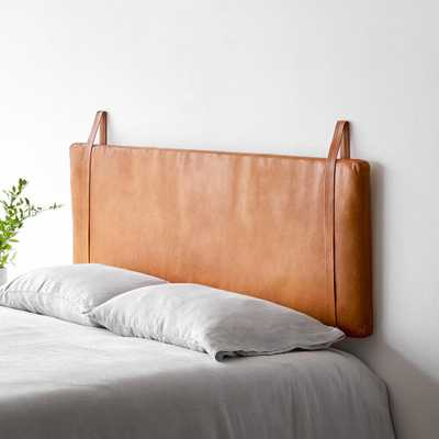 Hanging Leather Headboard - Full/Queen By The Citizenry - The Citizenry