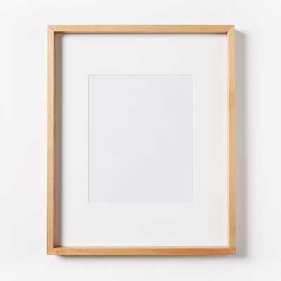 """Thin Wood Gallery Frames, Bamboo, 16""""x14"""", Set of 4 - West Elm"""