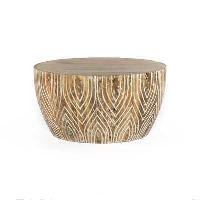 Samira Drum Coffee Table - Wayfair