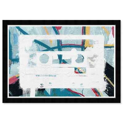19x13 Music on the Walls by Hatcher and Ethan - Picture Frame Graphic Art Print on Paper - Wayfair