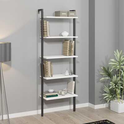 """Alaa 71"""" H x 26"""" W Ladder Bookcase - Wayfair"""
