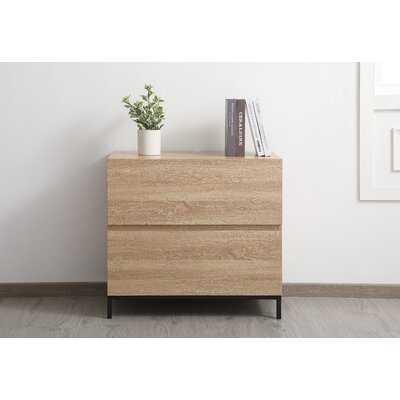 Aya 2-Drawer Lateral Filing Cabinet - Wayfair