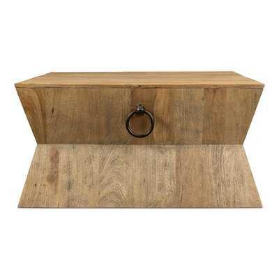 Tribal Solid Wood Solid Coffee Table - Wayfair
