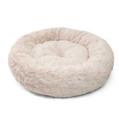 Lux Donut Fur Round Cuddler Bolster - Wayfair