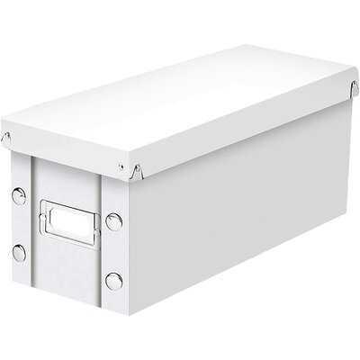 CD Storage Box, Berry, 2 PK - Wayfair