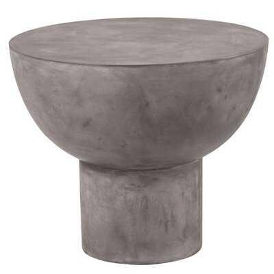 Perpetual Concrete Side Table - Wayfair