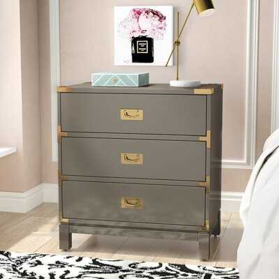 Eivind 3 Drawer Nightstand - Wayfair