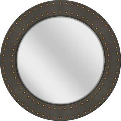 """32"""" X 32"""" Ronna Round Mirror-17 Stories - Wayfair"""
