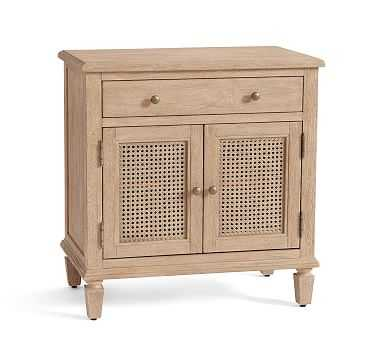 Sausalito Storage Nightstand, Seadrift - Pottery Barn