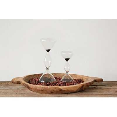 Wrightstown Decorative Hourglass - Wayfair