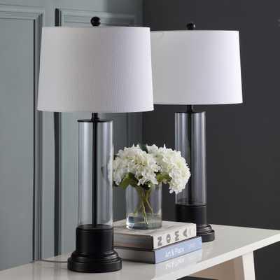 Jayse Table Lamp - Black/Clear - Arlo Home - Arlo Home