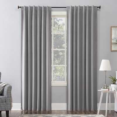 Amherst Velvet Solid Max Blackout Thermal Single Curtain Panel - AllModern