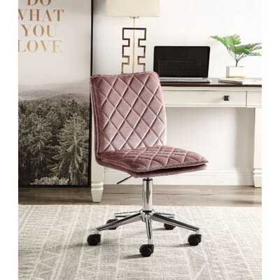 Velvet Office Chair Swivel Computer Chair - Wayfair