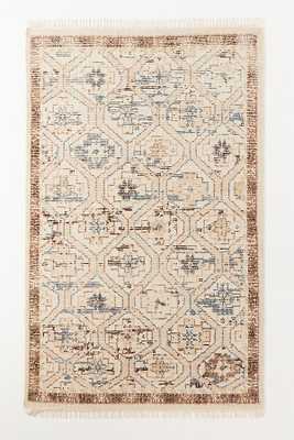 Amber Lewis for Anthropologie Hand-Knotted Sarina Rug By Amber Lewis for Anthropologie in White Size 8 x 10 - Anthropologie