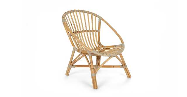 Livia Natural Lounge Chair - Article