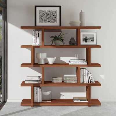 Nobles Geometric Bookcase - AllModern
