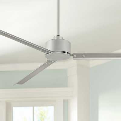 "72"" Hinkley Indy Brushed Nickel Ceiling Fan - Style # 84K06 - Lamps Plus"
