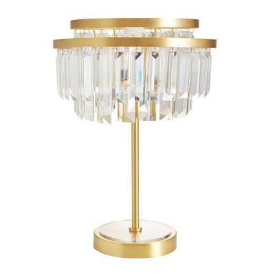 Monique Lhuillier Crystal Table Lamp - Pottery Barn Teen