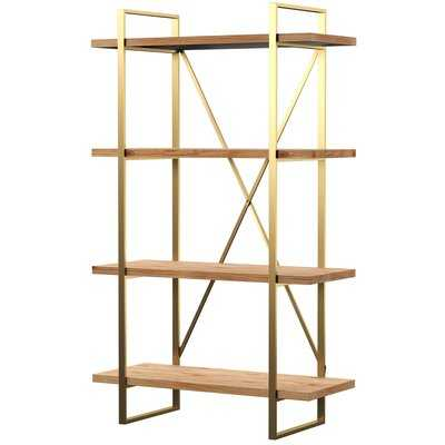Cristobal Etagere Bookcase - Wayfair