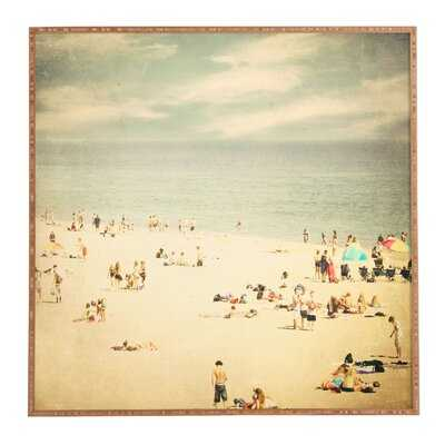 Vintage Beach - Picture Frame Print on Canvas - Wayfair