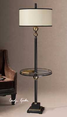 Revolution End Table Floor Lamp - Hudsonhill Foundry