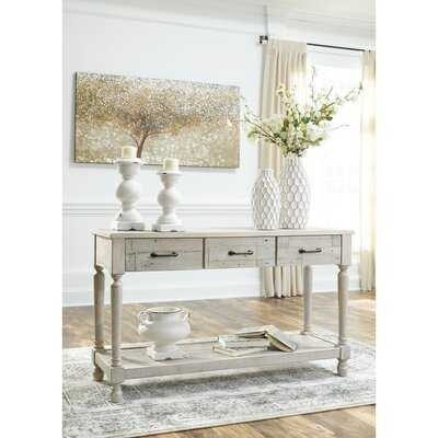 """Theron 50"""" Solid Wood Console Table - Wayfair"""