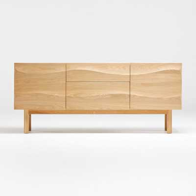 Apex White Oak Sideboard - Crate and Barrel