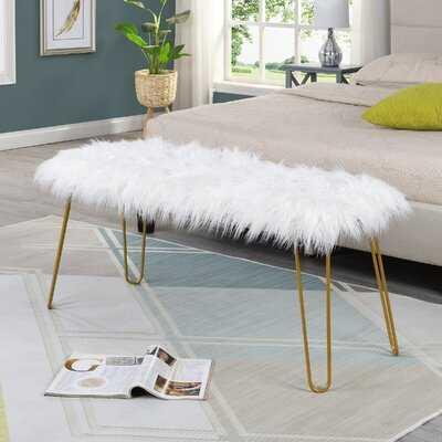 Bahr Upholstered Bench - Wayfair