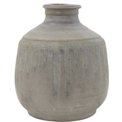 Ryans Terracotta Table Vase - Wayfair